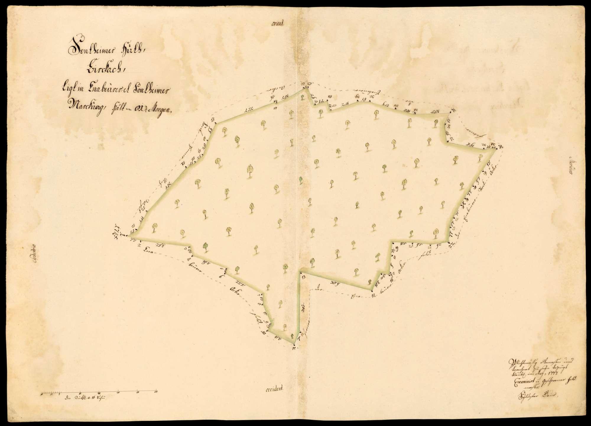 """[Kloster Blaubeuren:] """"Sontheimer Hut, Birkach, liegt in Ennabeurer und Sontheimer Markung"""", Bild 1"""