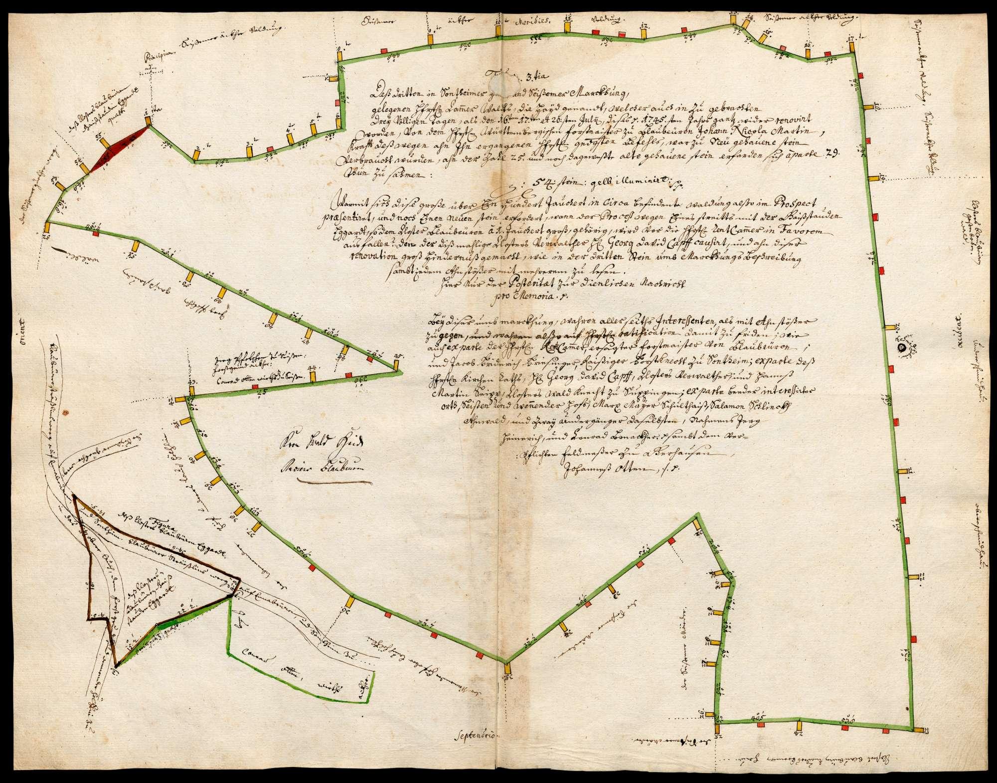"""""""Kammerwald Hayd"""" [Sontheimer Hut, auf Seißener Markung gelegen], Bild 1"""