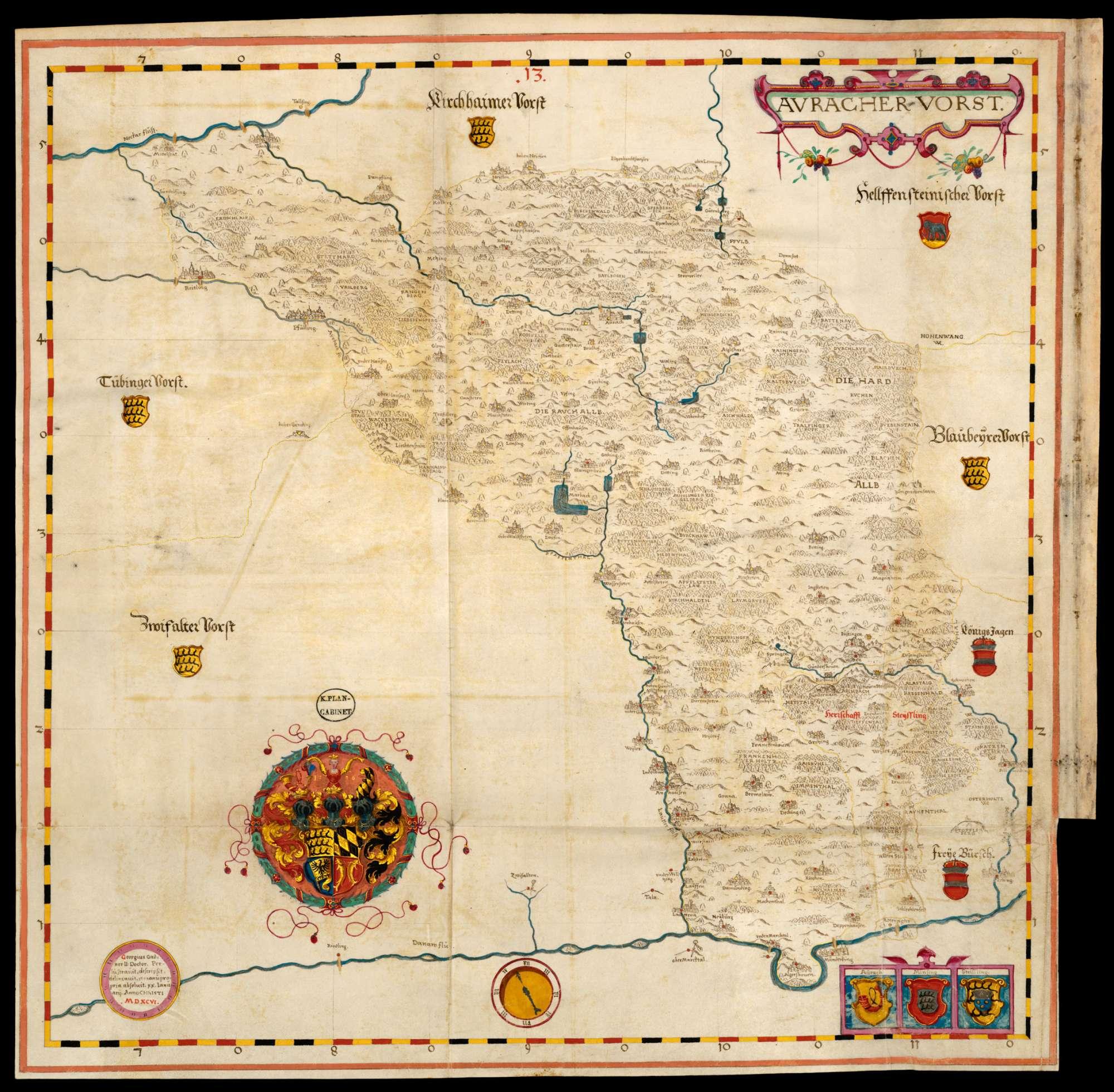 Bl. 19 v: Uracher Forst (13), Bild 1