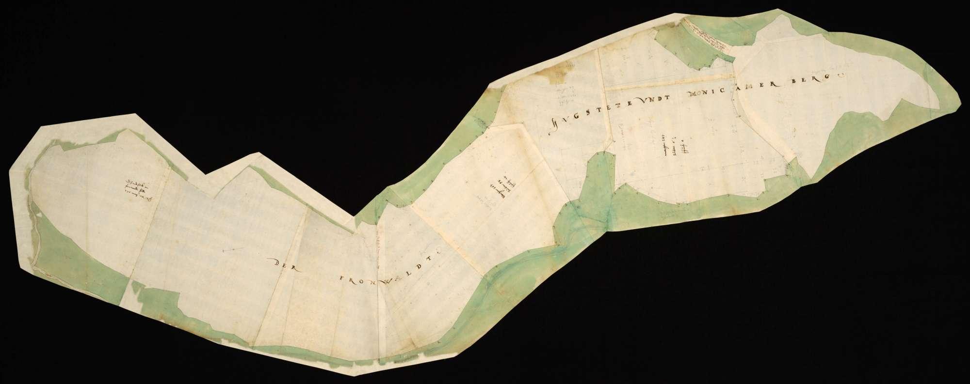 """[Waldungen der Fronwald, Hugstete und Monakamer [""""Monicamer""""] Berg], Bild 1"""