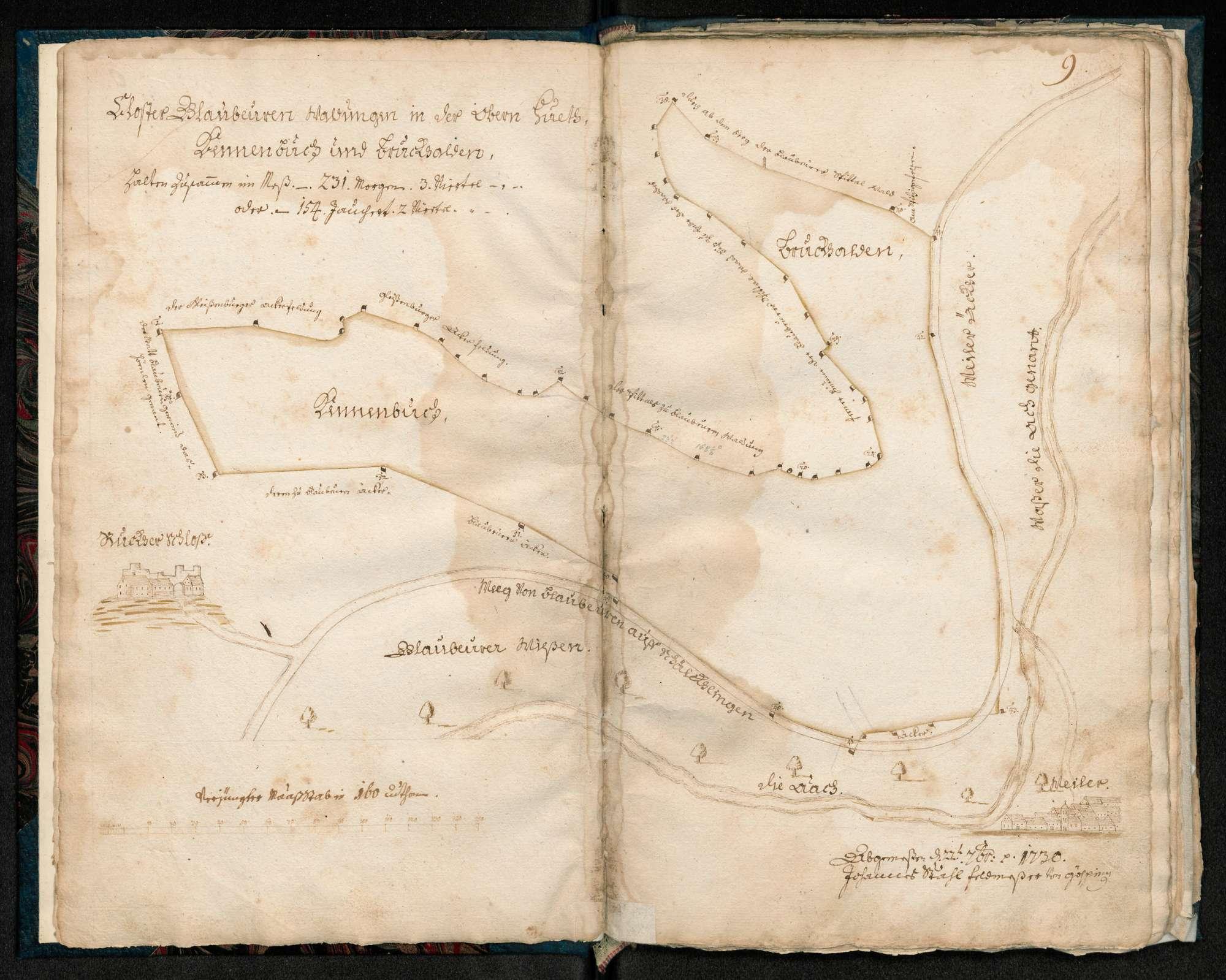 """[obere Hut] """"Kennenbuch und Brockhalden ..."""", Bild 1"""