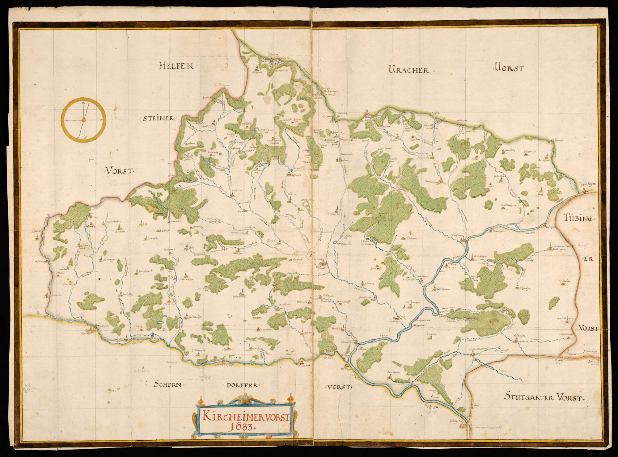 """""""Kirchheimer Forst 1683"""", Bild 1"""