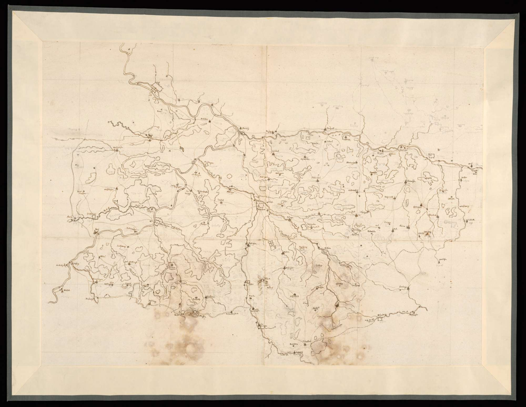 [Karte des Kirchheimer Forsts], Bild 1