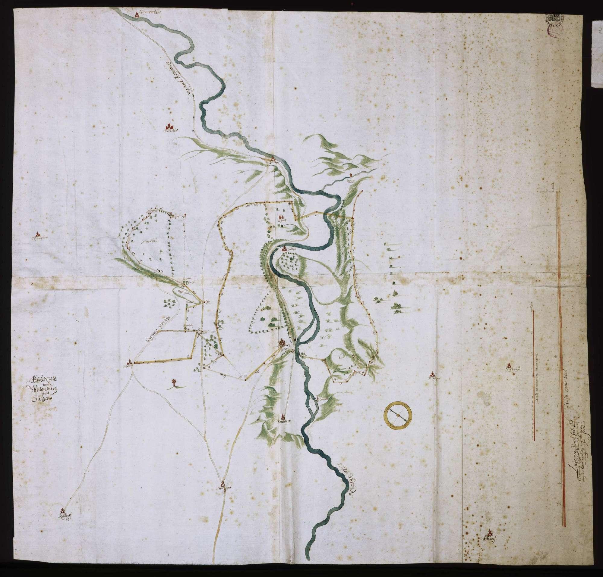 """""""Planum von Weidenburg und Sulzaw"""", Bild 1"""
