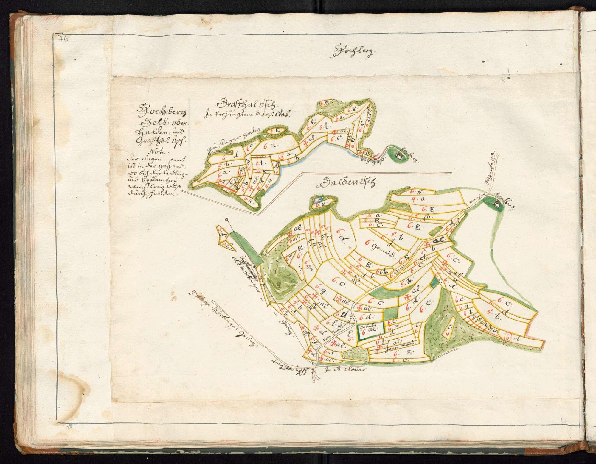 Zwiefalten, Orte des Klosterterritoriums, Hochberg, Bild 3