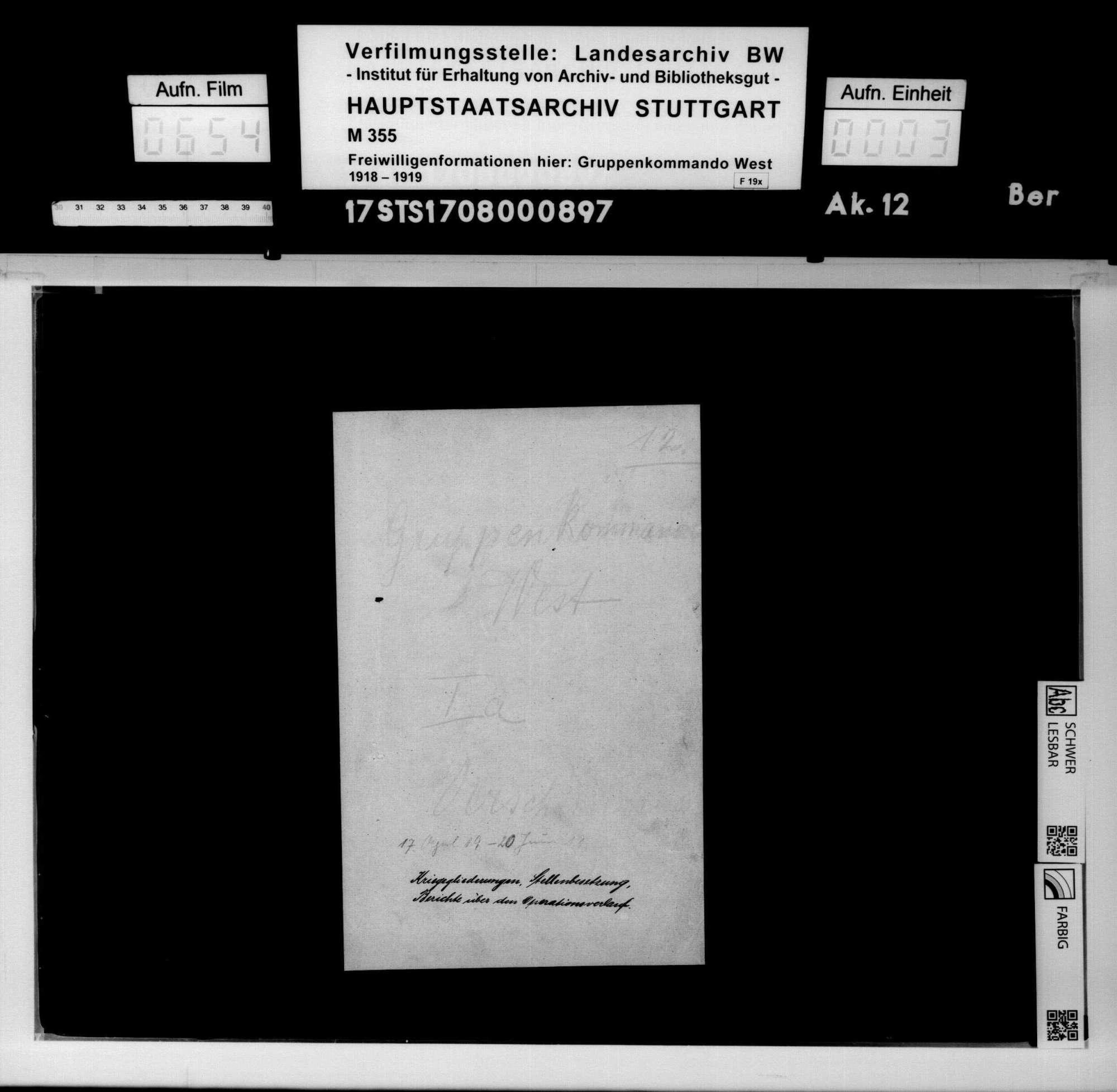 Operationen in Südbayern und Besetzung Münchens, Bild 1