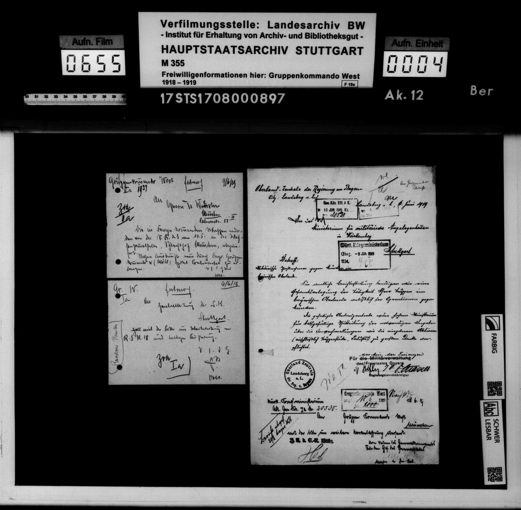Operationen in Südbayern und Besetzung Münchens, Bild 2