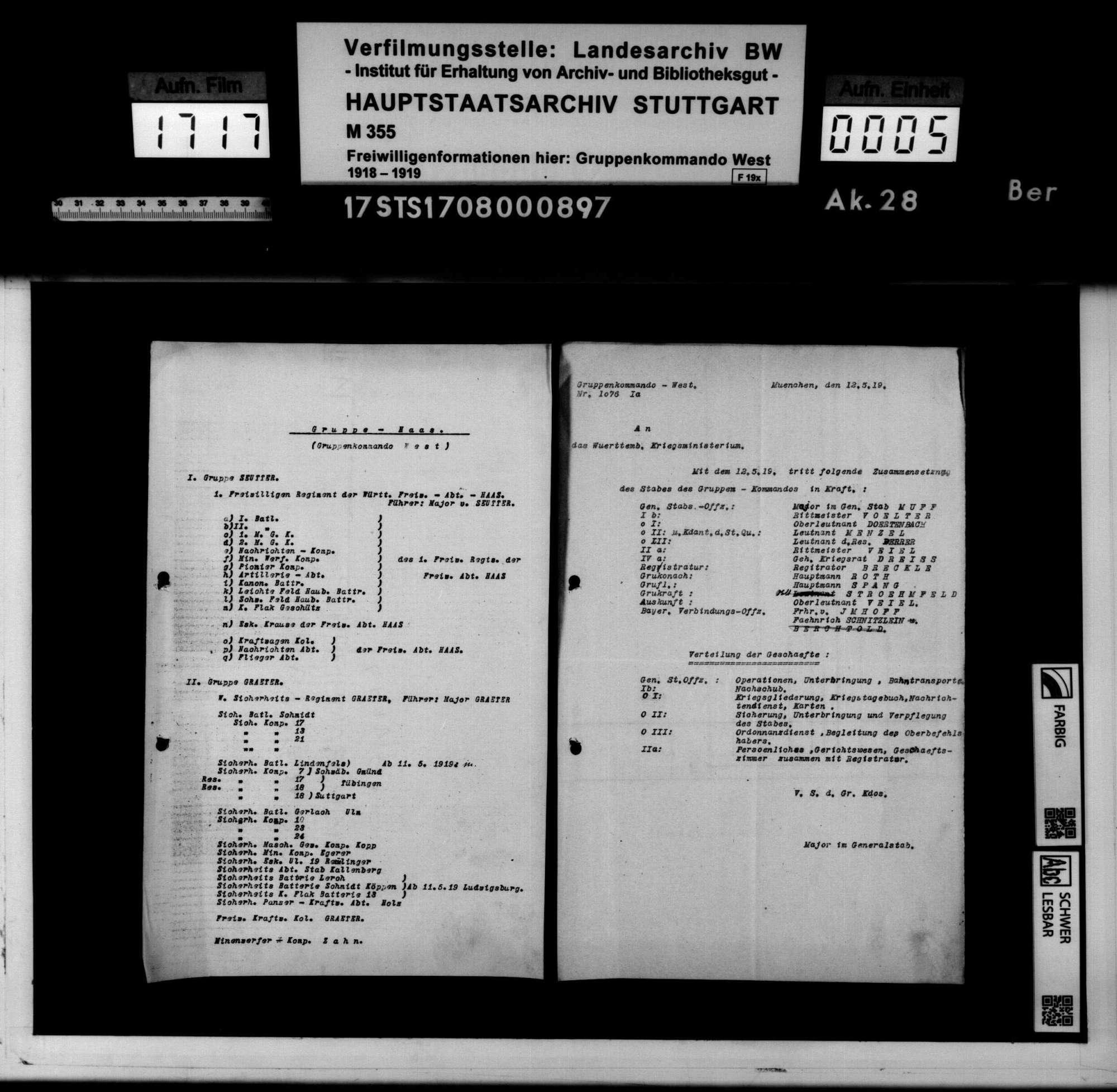 Kommandostruktur, Truppenstärken und Ausrüstung, Bild 3