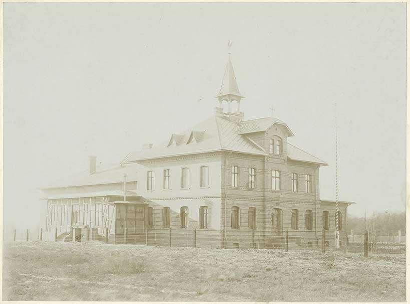 Jüterbog , Außenaufnahme des SoldatenheimesII, 1898, Bild 1