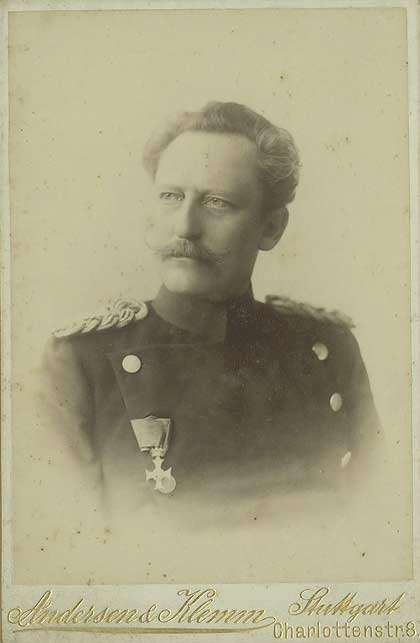 Freiherr Kuno Wilhelm Erdmann von Falkenstein, General der Infanterie, Generaladjutant in Uniform mit Orden, Brustbild in Halbprofi, Bild 1