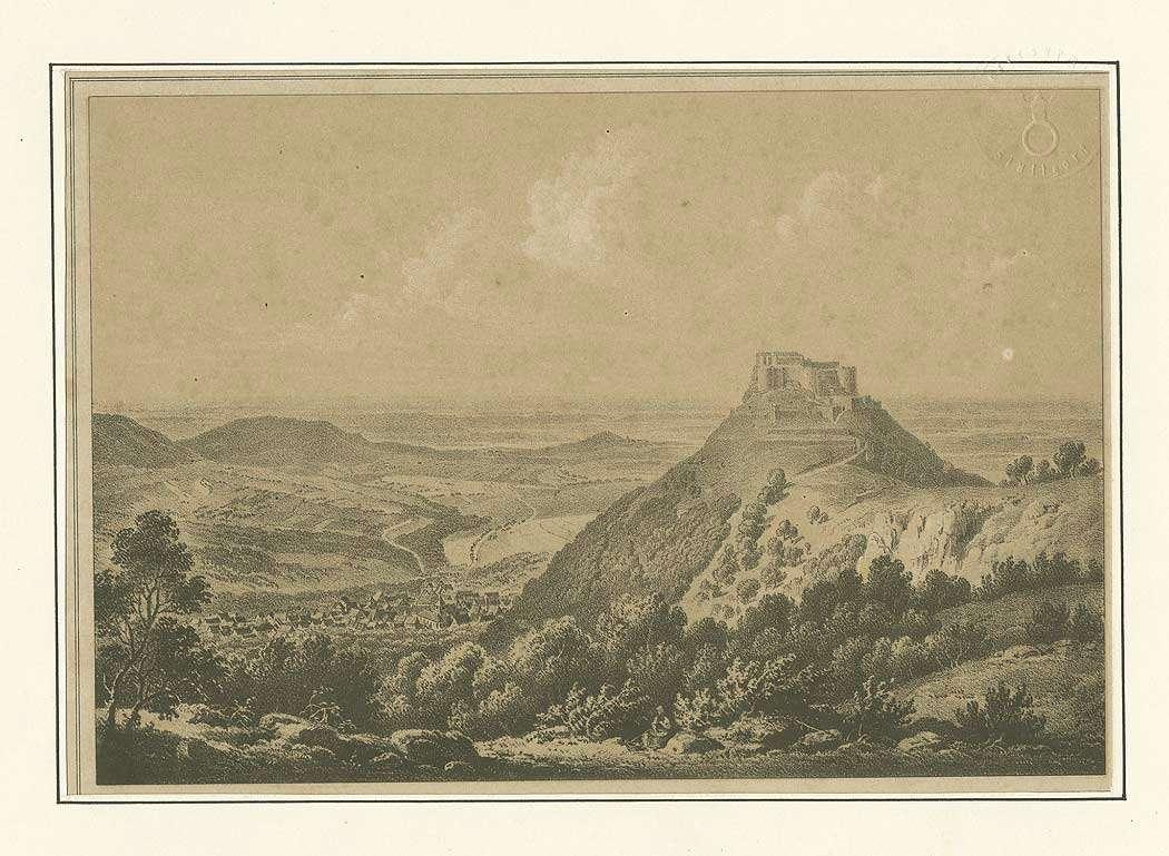 Festung Hohenneuffen mit Blick auf umliegende Landschaft, Bild 1