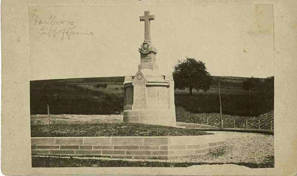Kriegerdenkmal bei Tauberbischofsheim, Bild 1