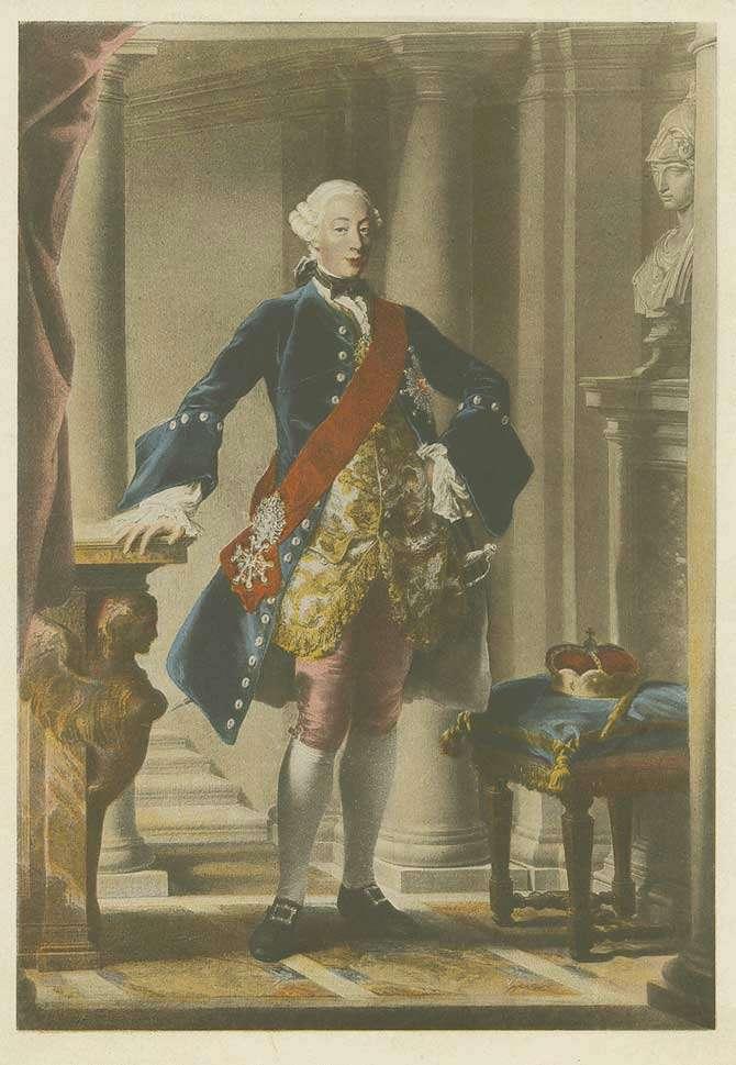 Herzog Carl Eugen von Württemberg [Quelle: Hauptstaatsarchiv Stuttgart]