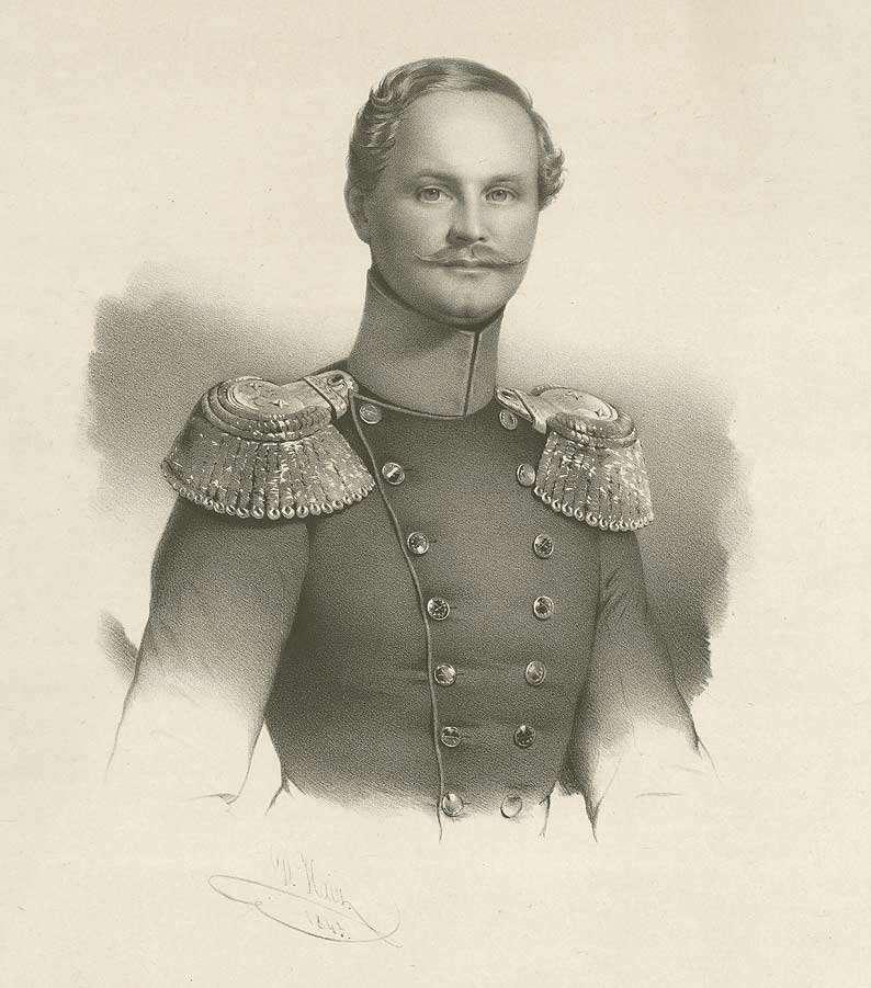 Prinz August von Württemberg in Uniform, Brustbild, Bild 1