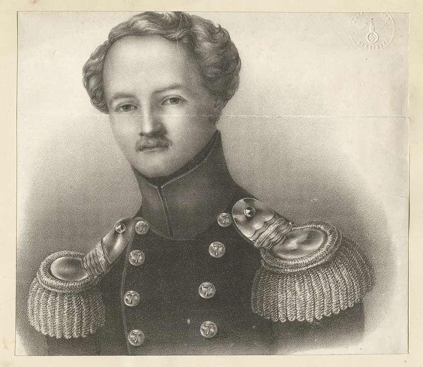 Prinz Friedrich von Württemberg in Uniform, Brustbild in Halbprofil, Bild 1