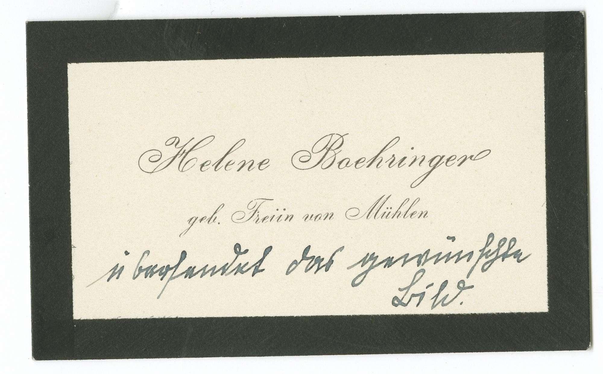 Böhringer, Theodor von, Bild 2