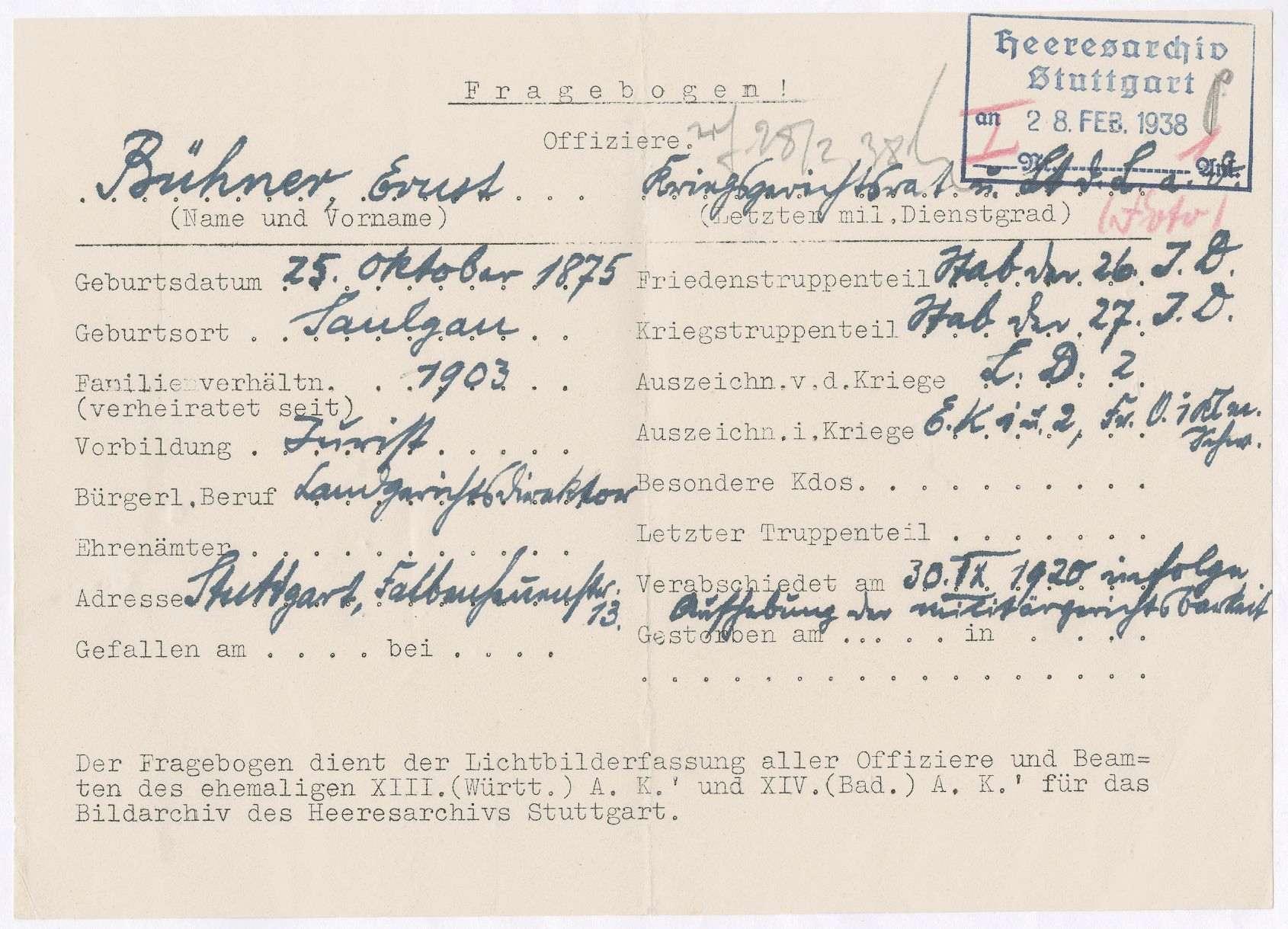 Bühner, Ernst, Bild 1