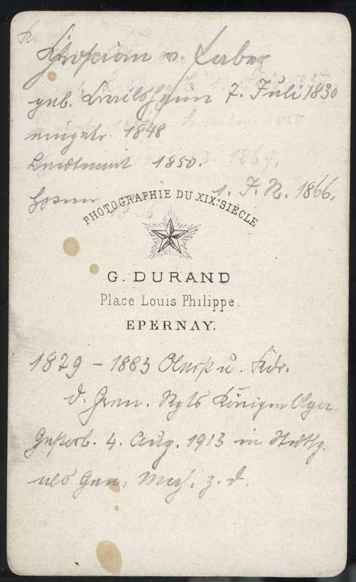 Faber, Christian Georg von, Bild 2