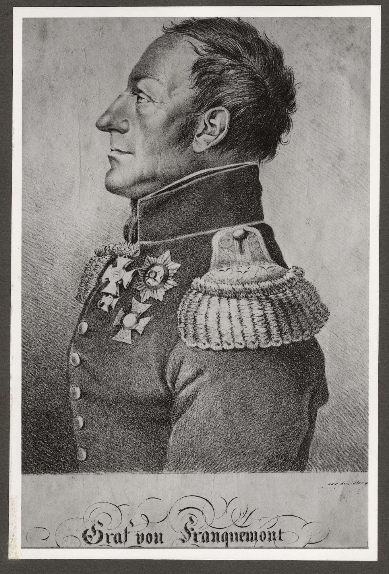 Franquemont, Graf von, Bild 3