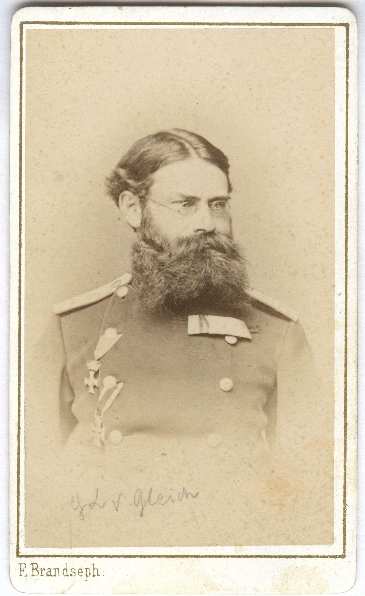 Gleich, Karl Anton Alerich von, Bild 1