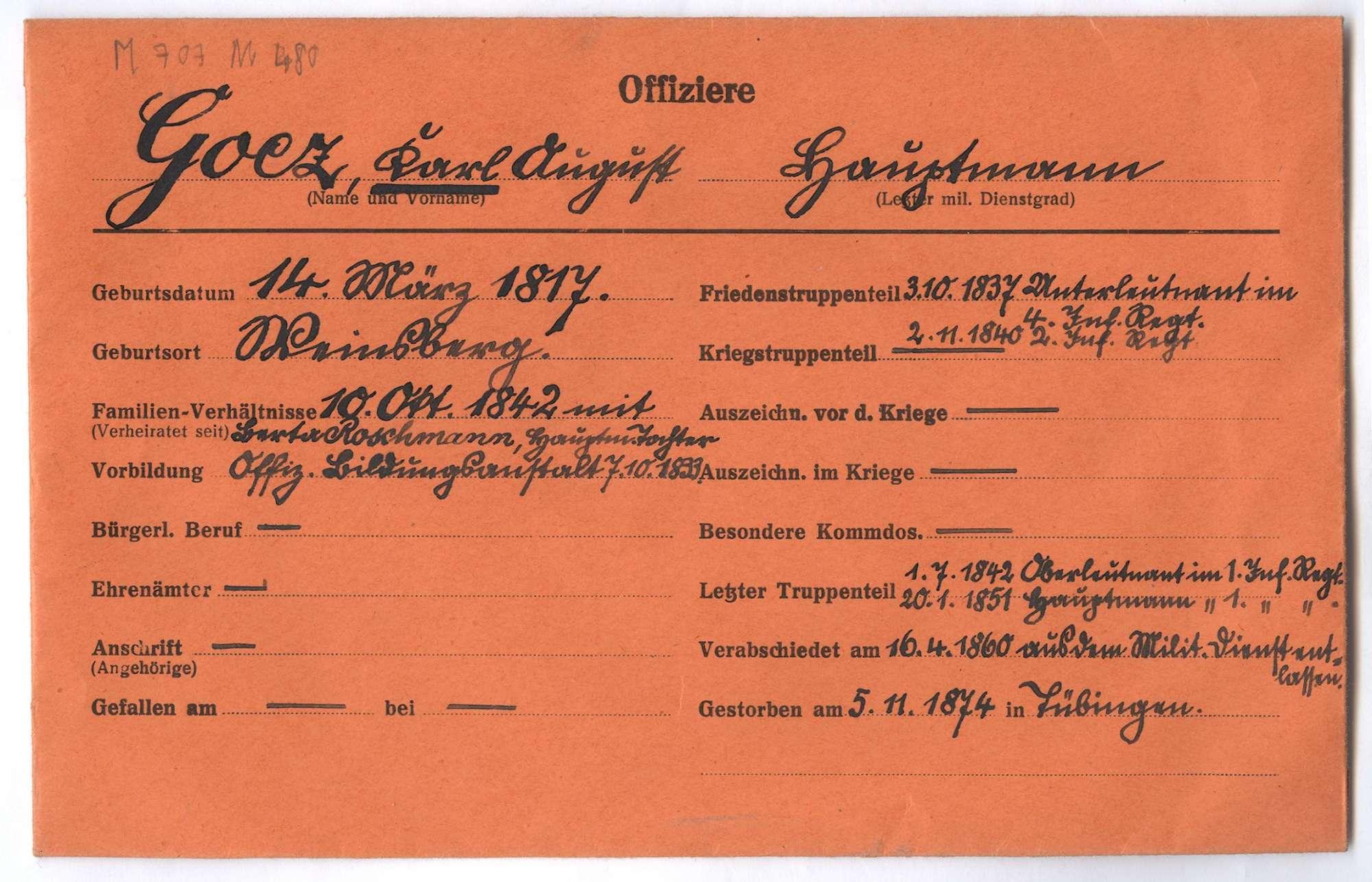 Goez, Karl August, Bild 1