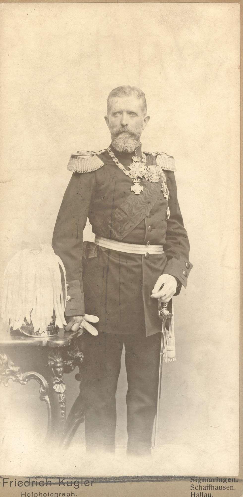 Hohenzollern, Leopold, Fürst von, Bild 2