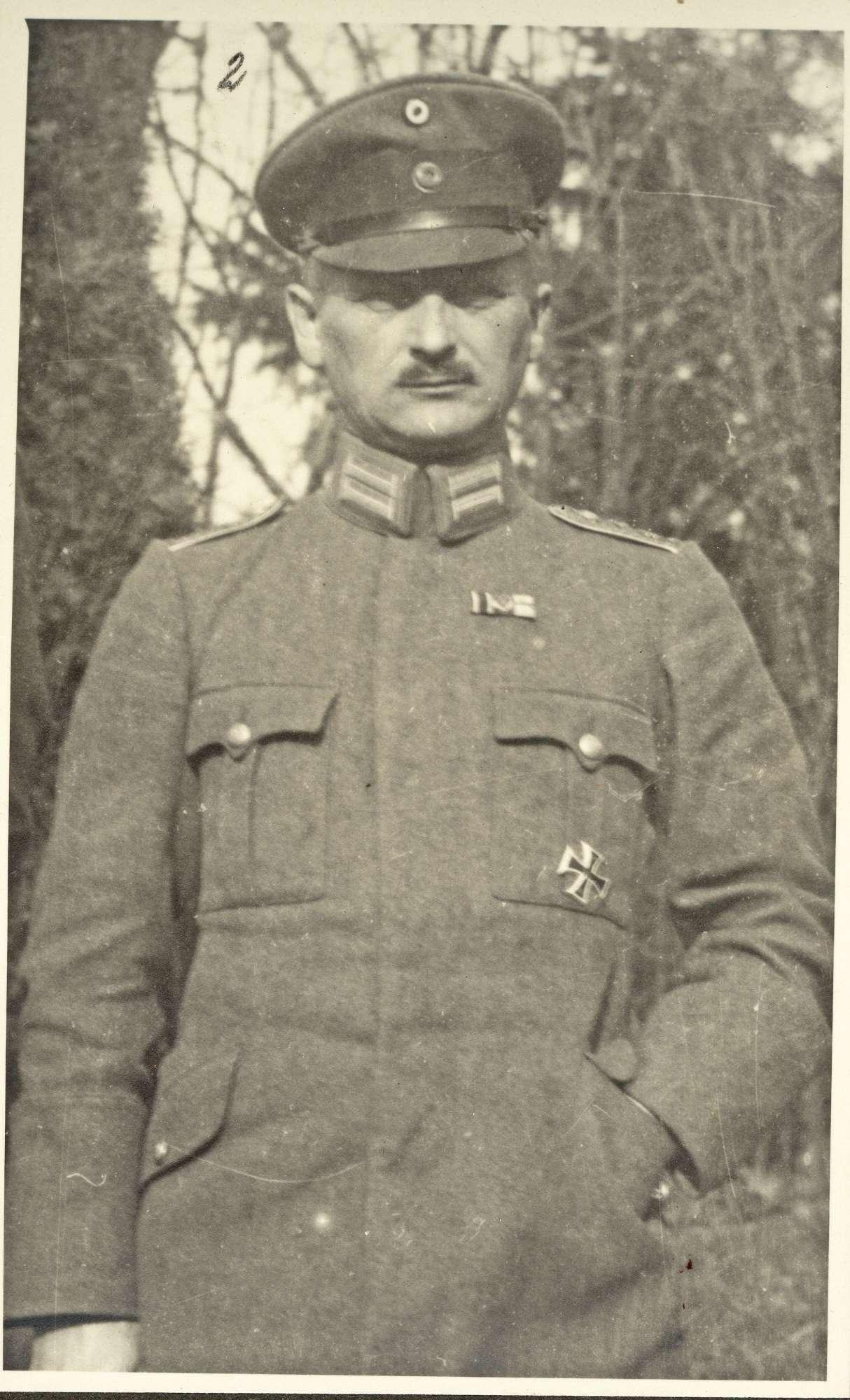 Holtz, Georg vom, Freiherr, Bild 1