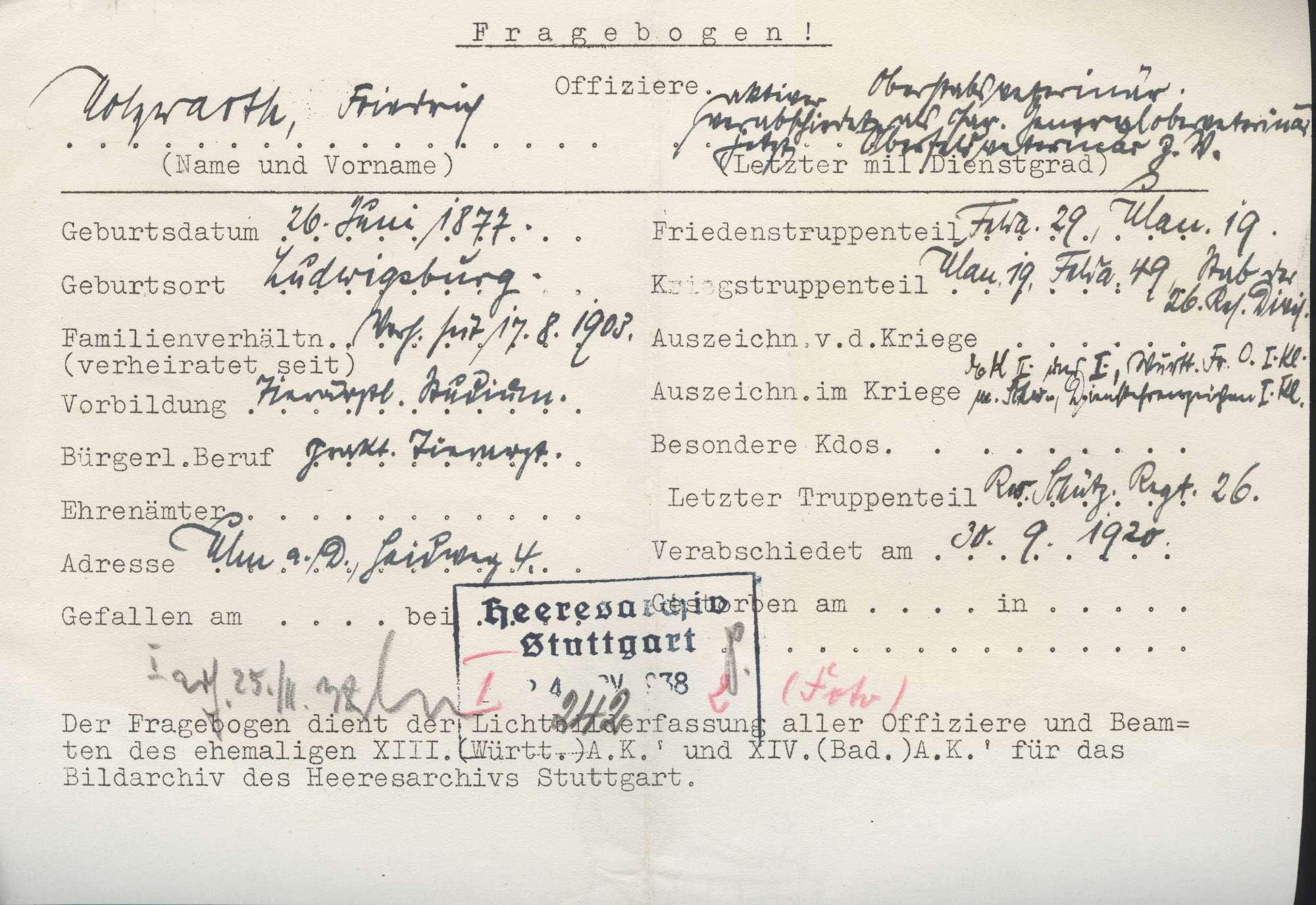 Holzwarth, Friedrich, Bild 3