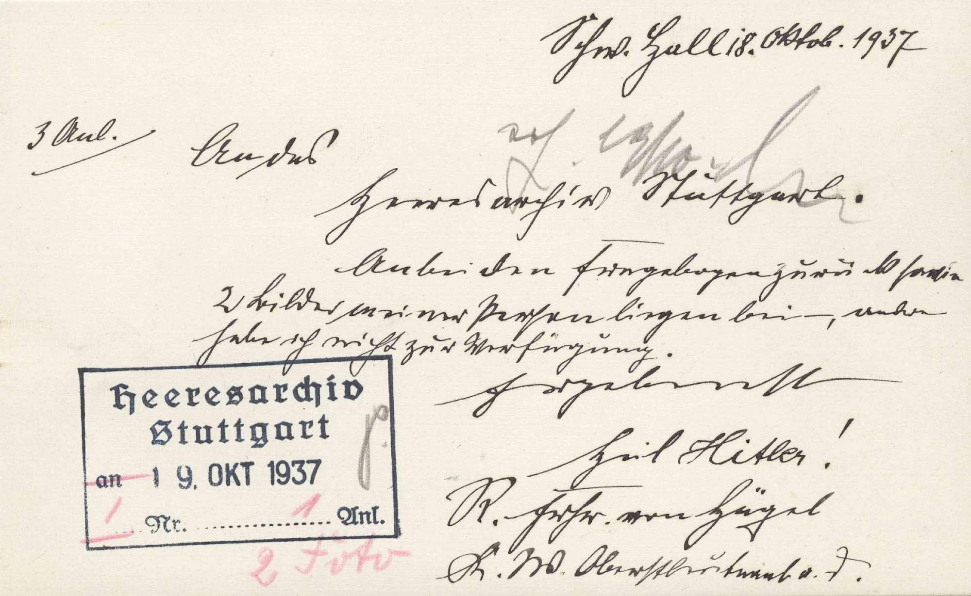 Hügel, Rudolf von, Freiherr, Bild 3