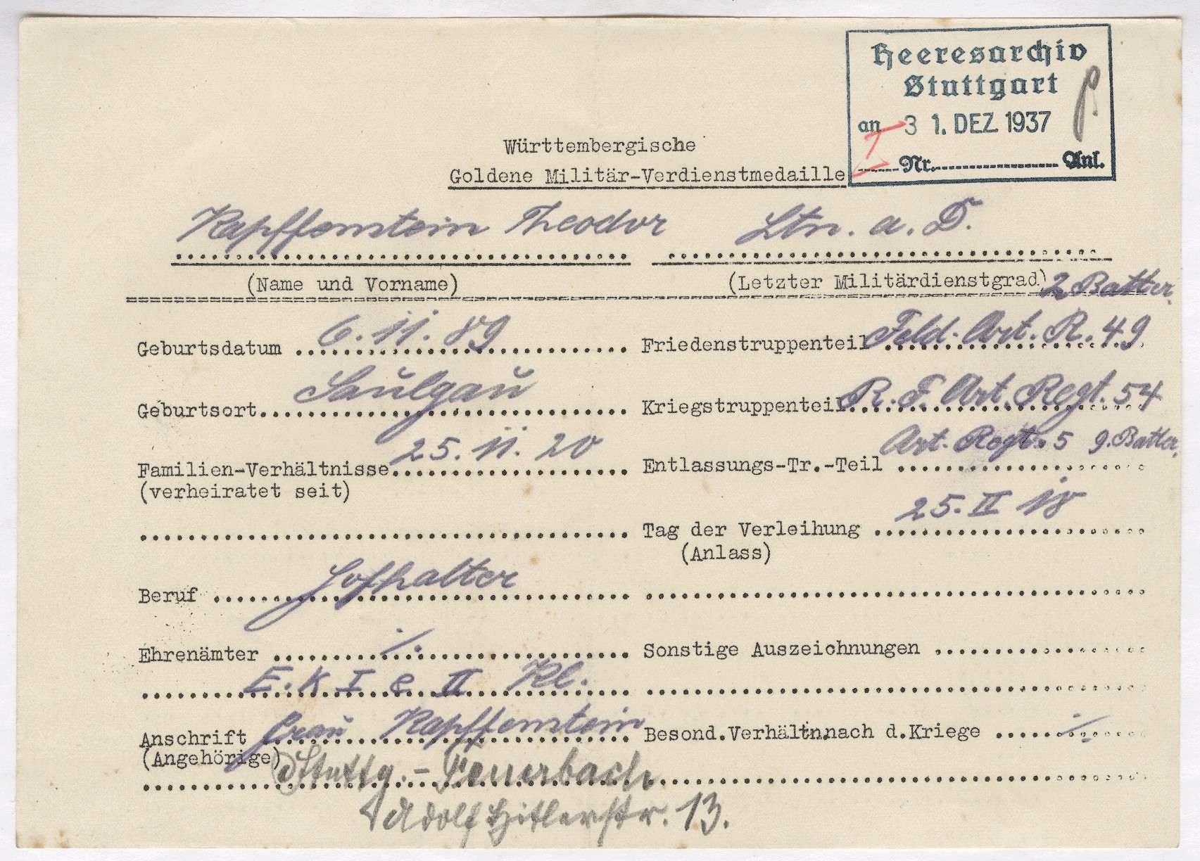 Kapffenstein, Theodor, Bild 2