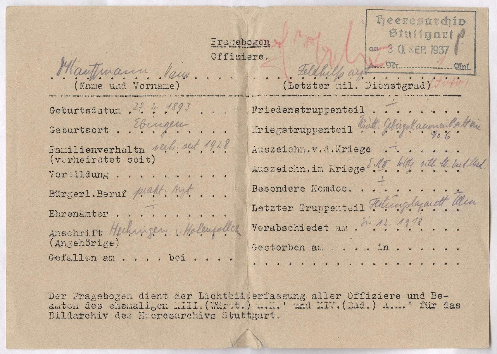 Kauffmann, Hans, Dr., Bild 2