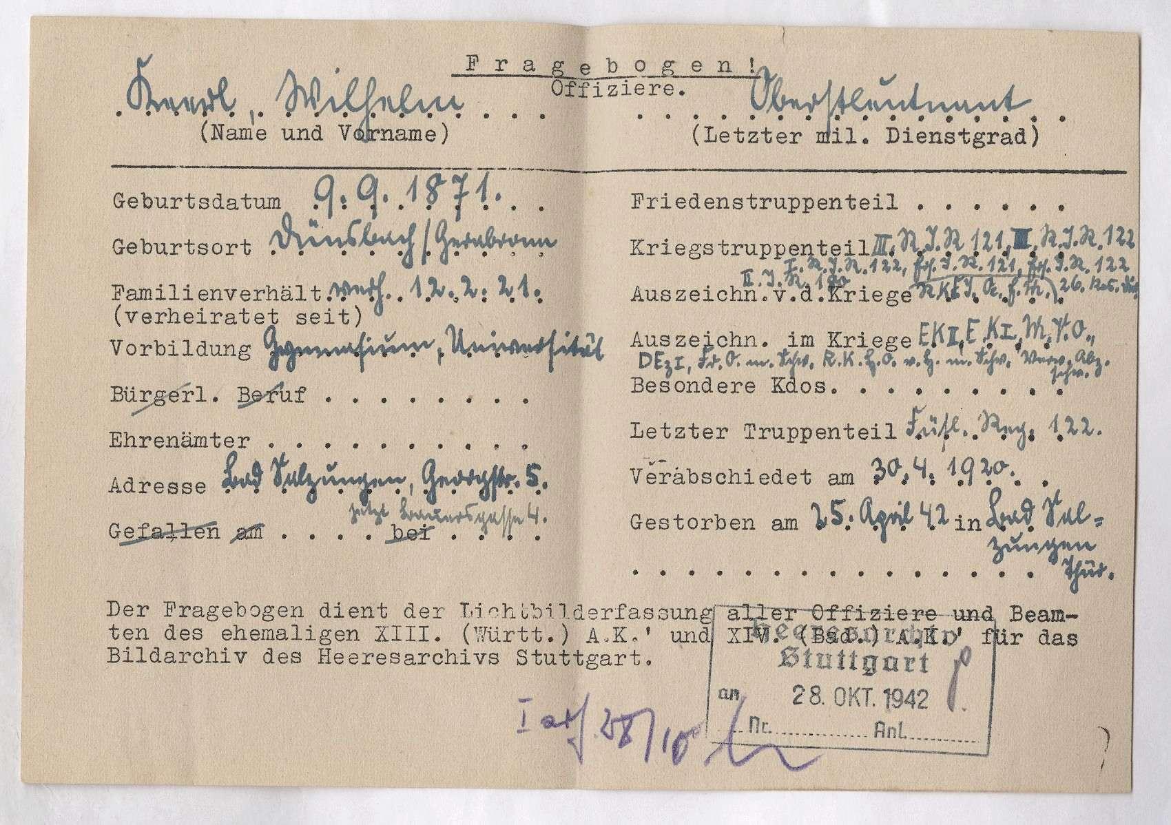 Keerl, Wilhelm, Bild 2