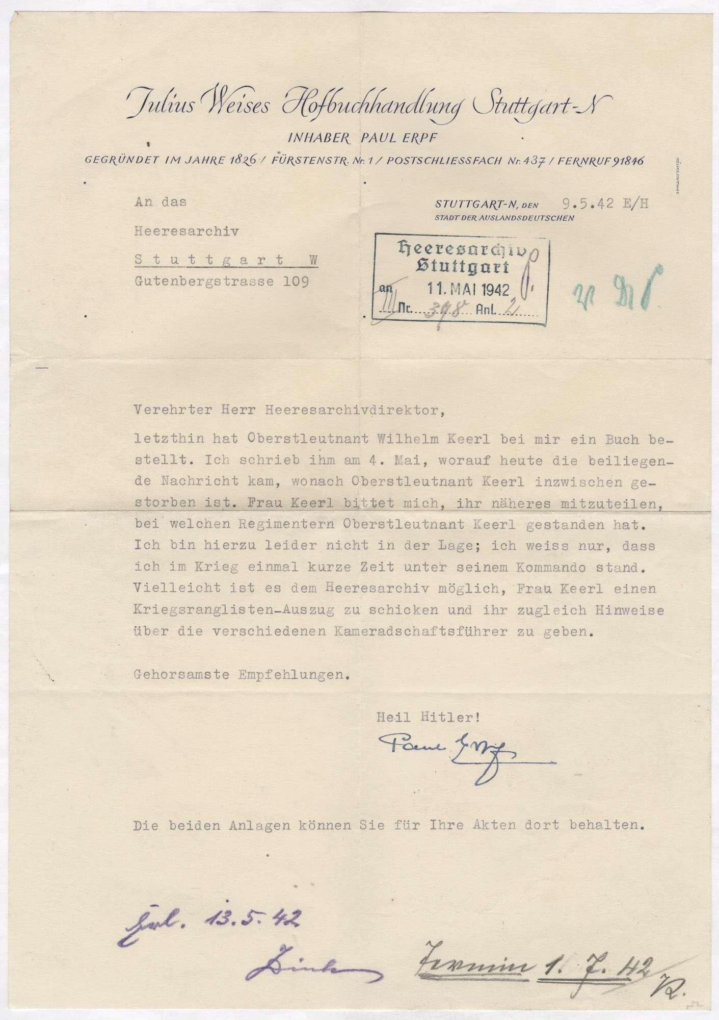 Keerl, Wilhelm, Bild 3