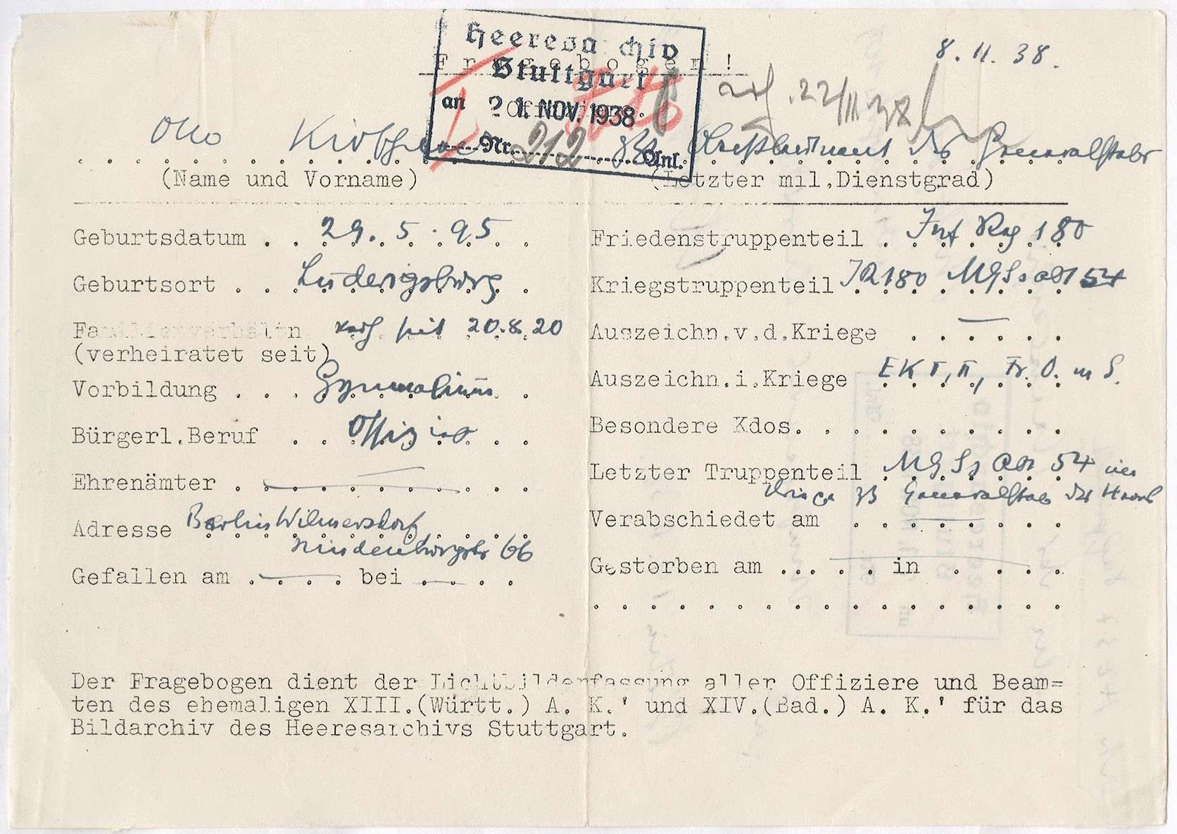 Kirschner, Otto, Bild 2