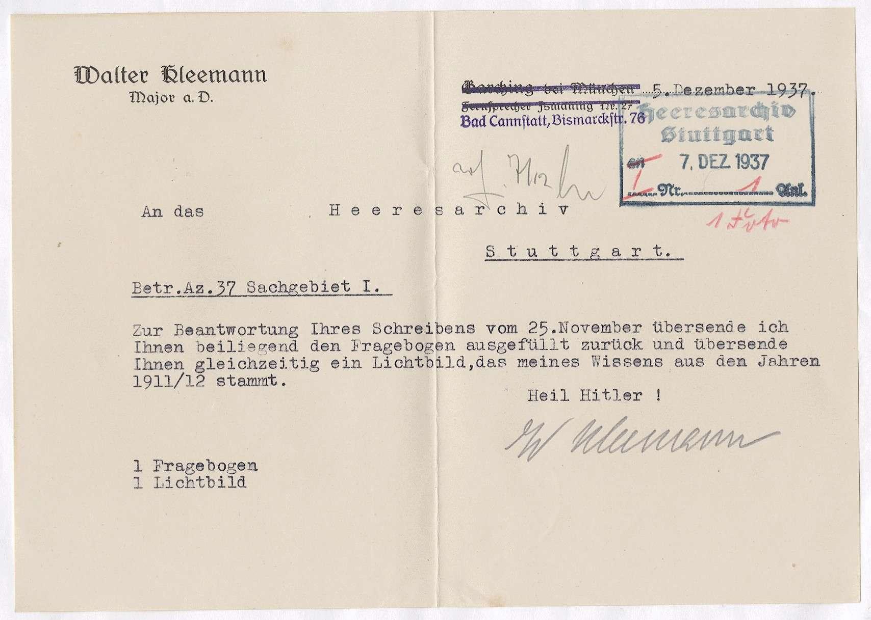 Kleemann, Walter, Bild 3
