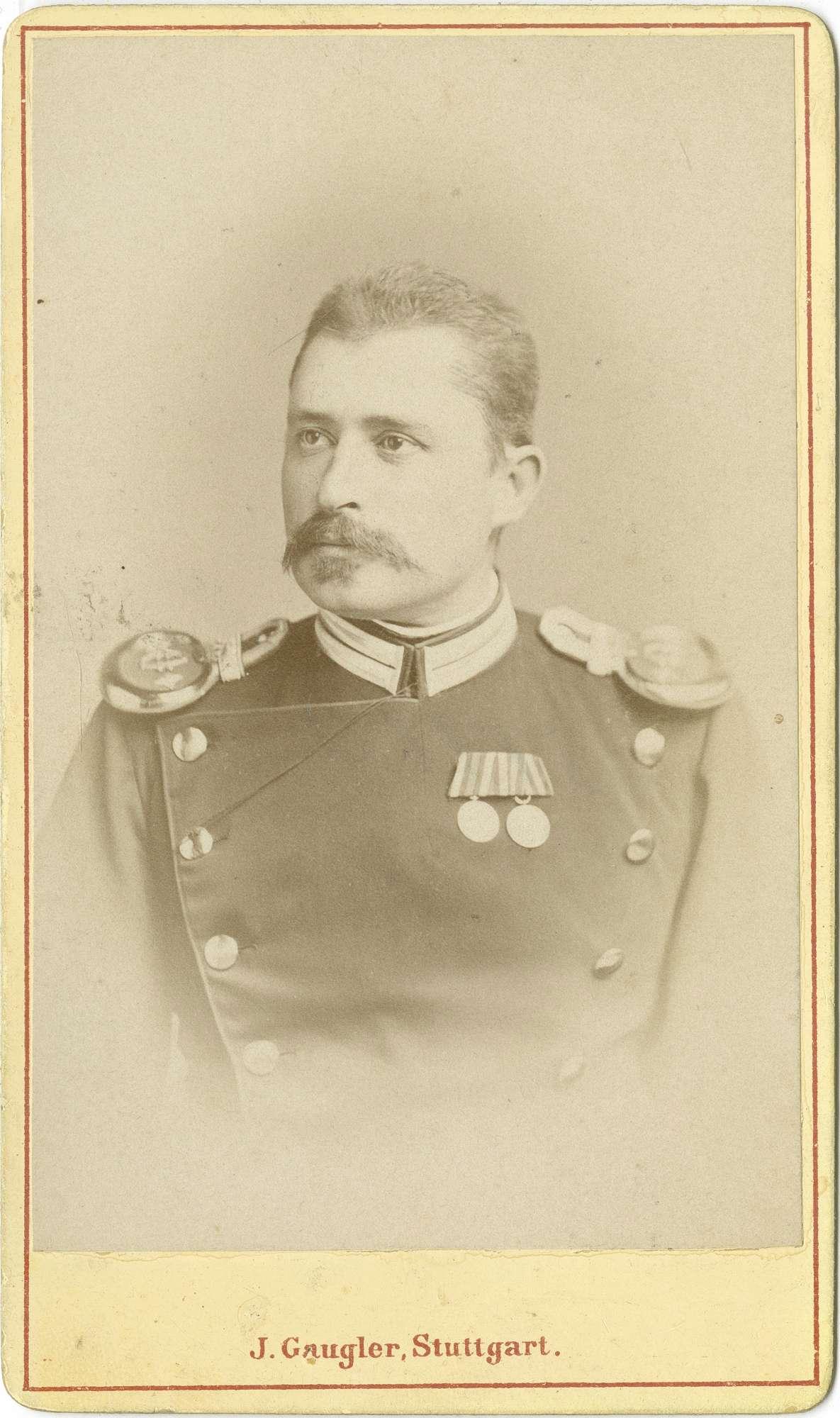 Pfister, Albert von, Dr., Bild 1