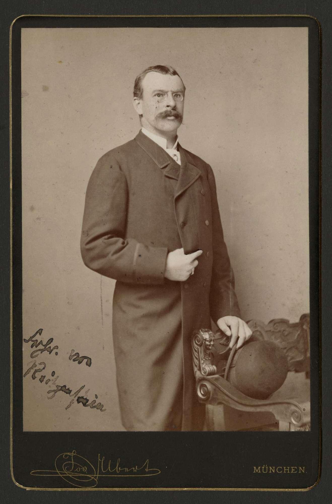 Reitzenstein, Karl Friedrich Felix Sigismund von, Freiherr, Bild 1