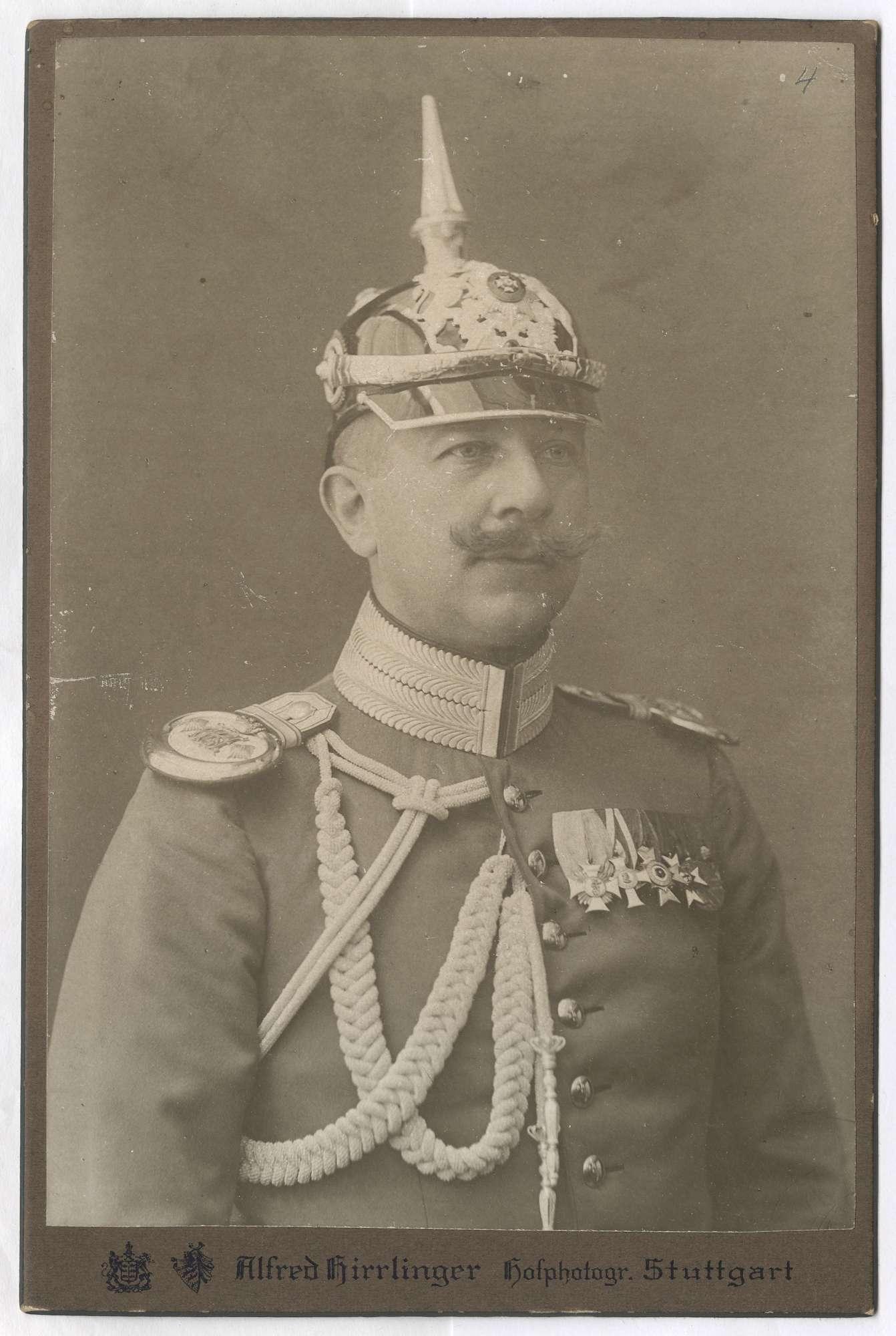 Reischach, August von, Graf, Bild 3