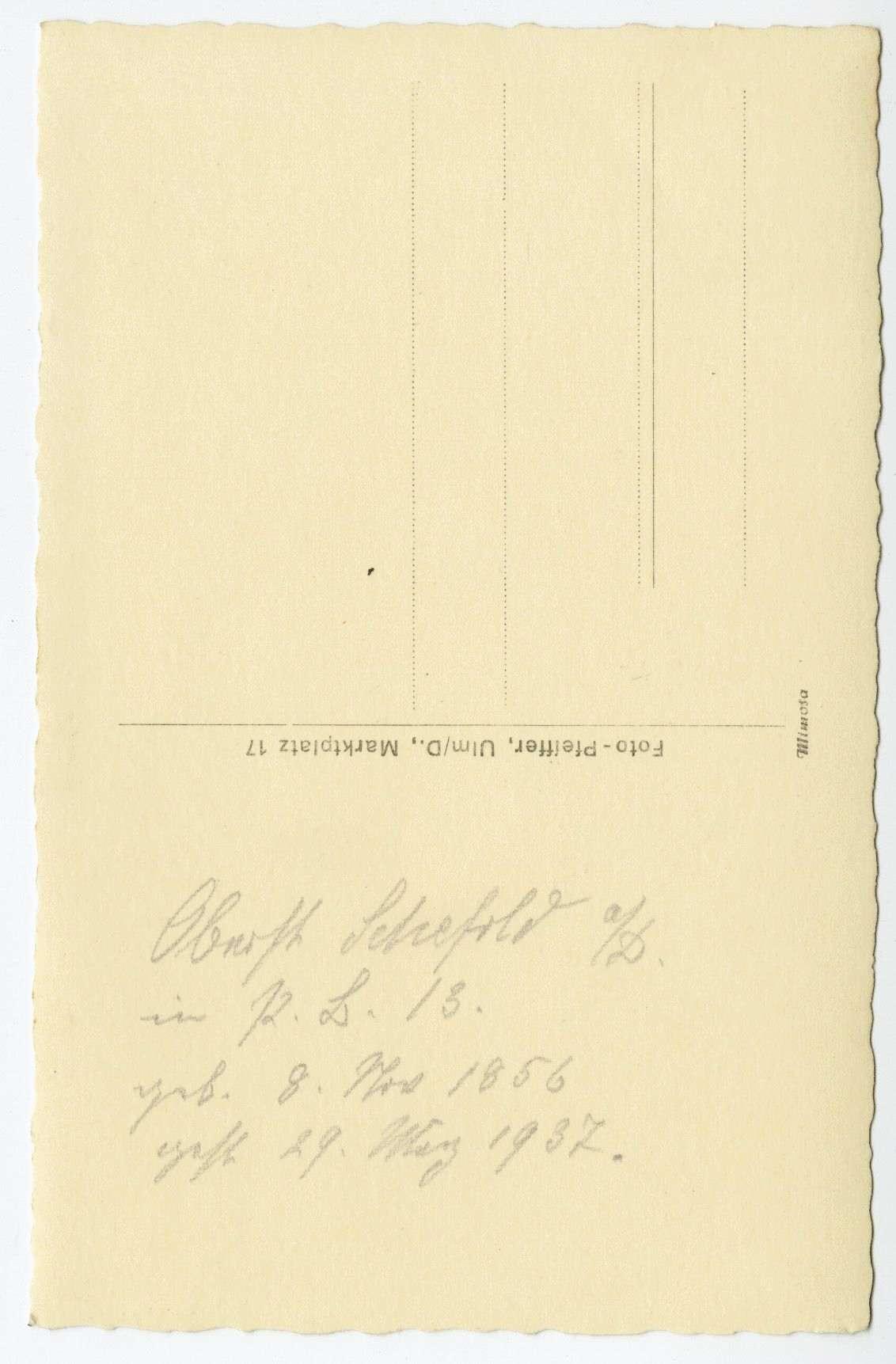 Schefold, Gustav Eduard, Bild 2