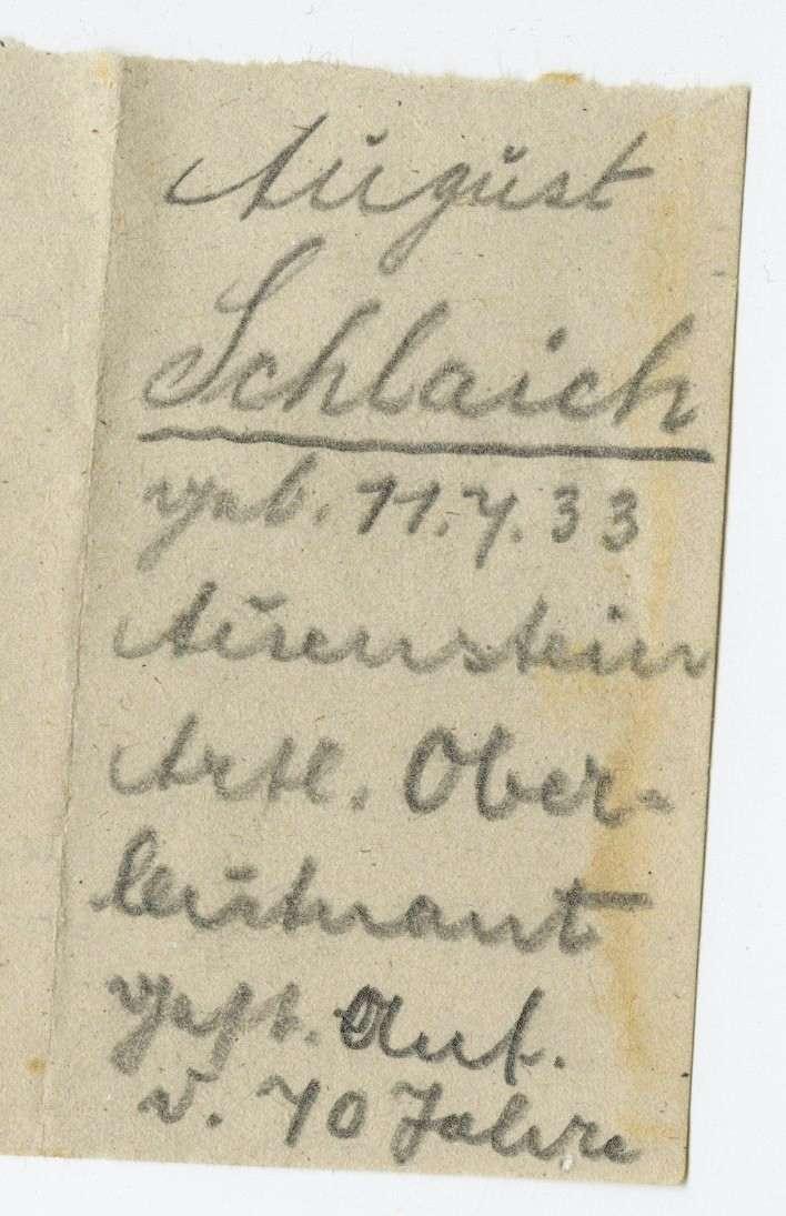 Schlaich, August, Bild 2