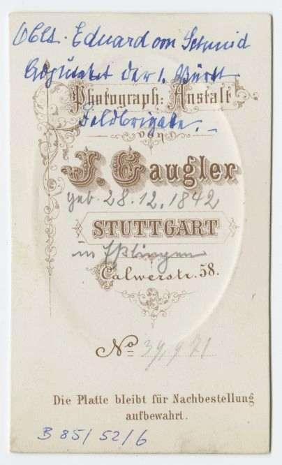 Schmid, Eduard von, Bild 2