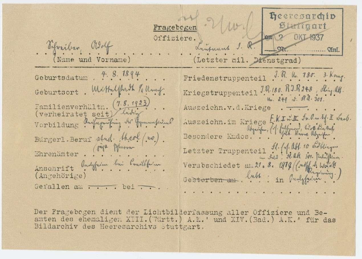 Schreiber, Adolf, Bild 3