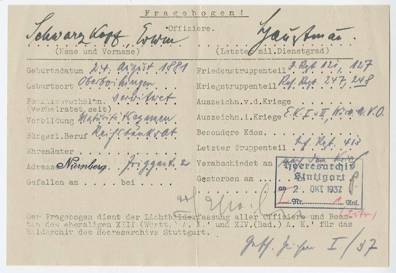 Schwarzkopf, Erwin, Bild 3