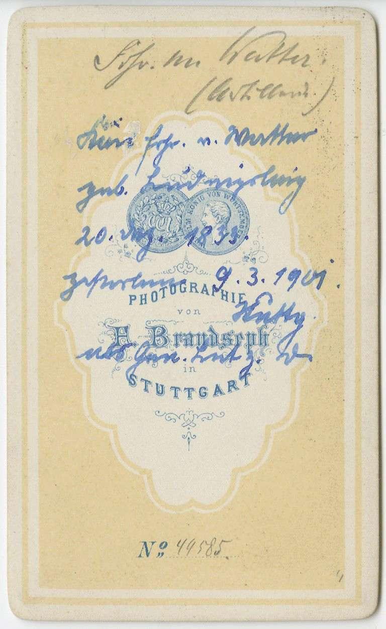 Watter, Hermann von, Freiherr, Bild 2