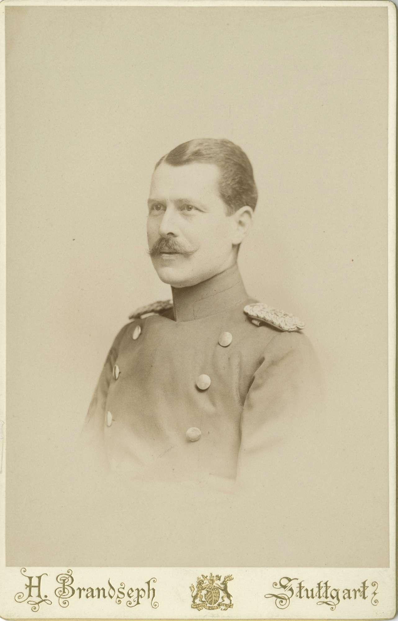 Falkenstein, Kuno Wilhelm Erdmann von, Freiherr, Bild 1
