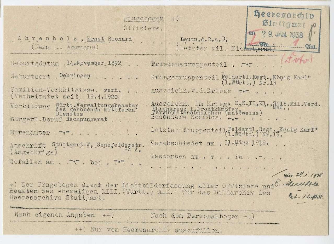 Ahrenholz, Ernst, Bild 2