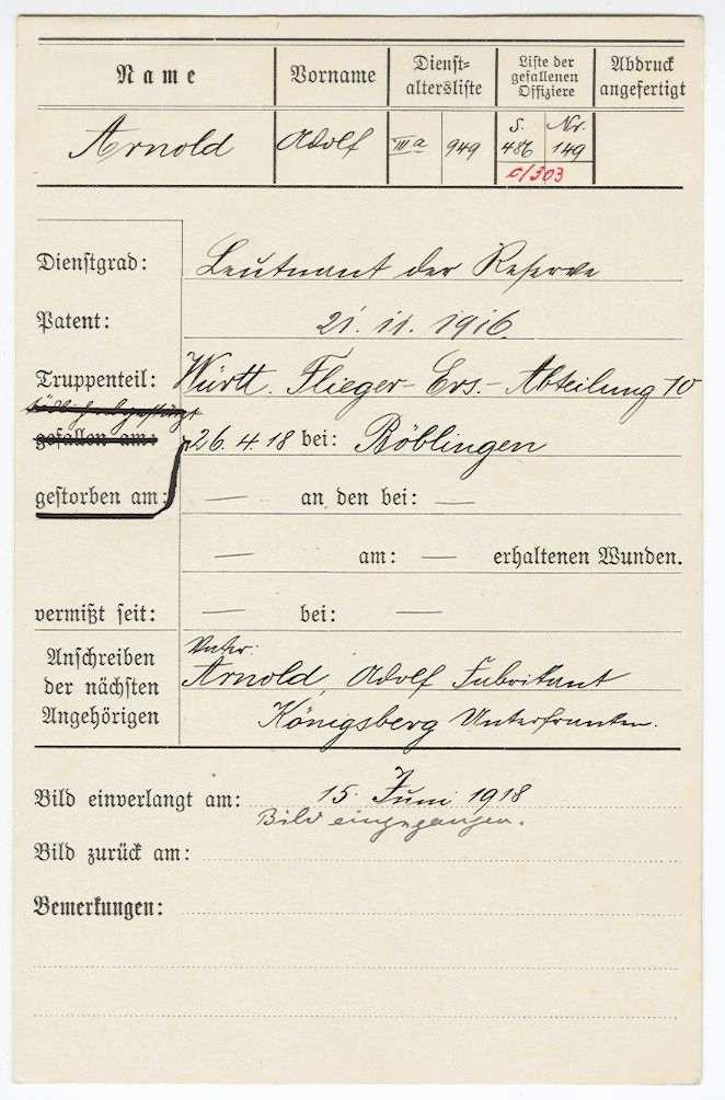 Arnold, Adolf, Bild 2