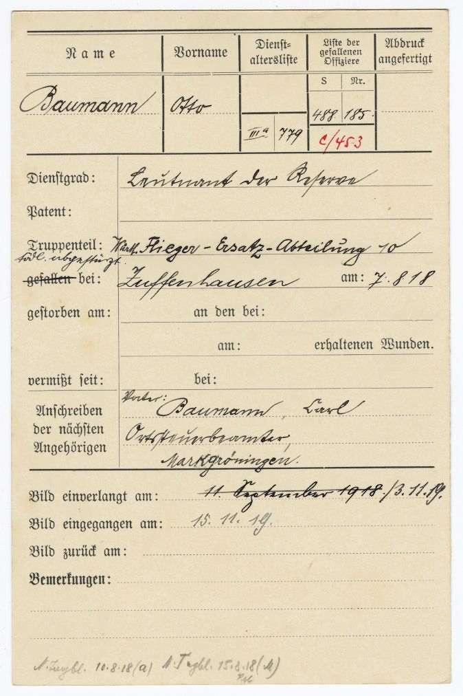 Baumann, Otto, Bild 2