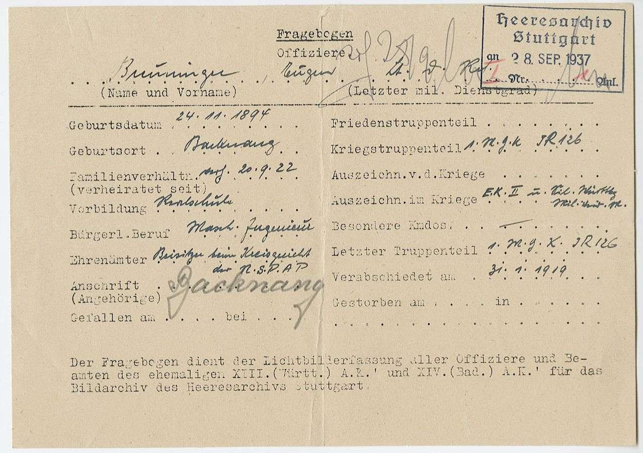 Breuninger, Eugen, Bild 2