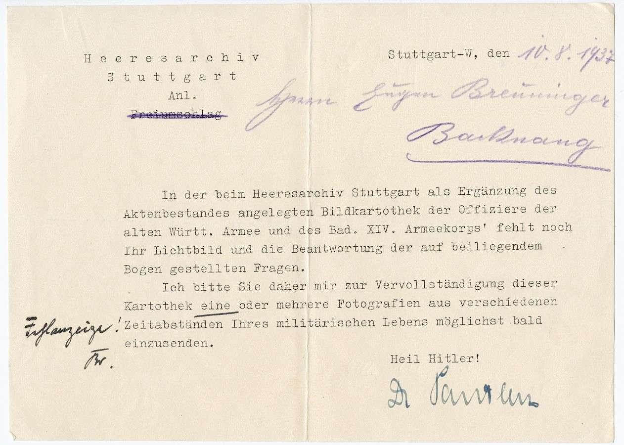 Breuninger, Eugen, Bild 3